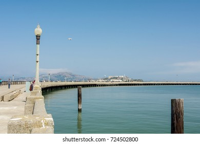 San Francisco, California, USA, 08 September 2017. The San Francisco municipal pier is one of the scenic treasures of the city. It is now in great need for repair.