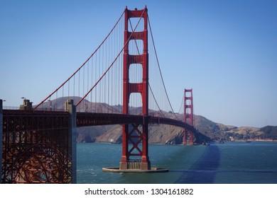 San Francisco California USA Golden Gate Bridge