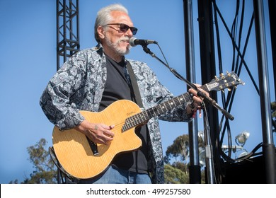 San Francisco, CA/USA - 10/1/16:  Jorma Kaukonen performs with Hot Tuna Electric at Hardly Strictly Bluegrass in Golden Gate Park.