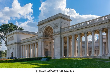 SAN FRANCISCO, CA/USA - FEBRUARY 28: The Legion of honor Museum in San Francisco, CA on Feb 28, 2015. The Legion of Honor is a part of the Fine Arts Museums of San Francisco.