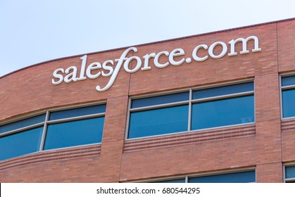 SAN FRANCISCO, CA/USA - MAY 31, 2014: Salesforce.com corporate headquarters. Salesforce.com Inc. is a global cloud computing company.