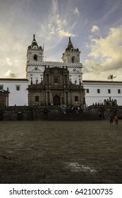 San Francisco Church located in Quito Ecuador
