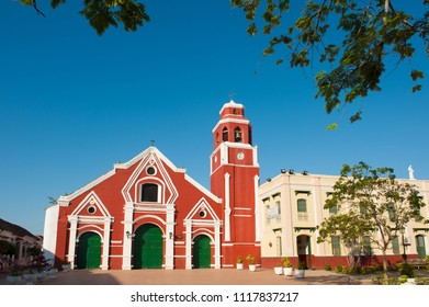 San Francisco Church, Mompox, Colombia. Daytime.