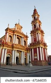 San Francisco Church in Salta province, North Argentina