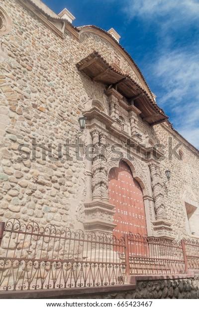 San Francisco convent in Potosi, Bolivia