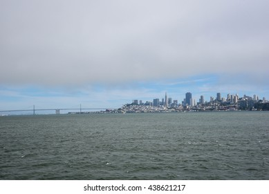 San Francisco Down Town View from the Bay Area
