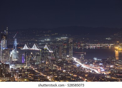 San Francisco downtown from Twin Peaks.