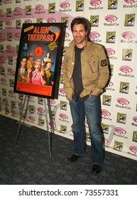 """SAN FRANCISCO - FEBRUARY 28.  Eric McCormack promoting """"Alien Trespass"""" during the """"Wondercon"""" convention in San Francisco on February 28, 2009."""