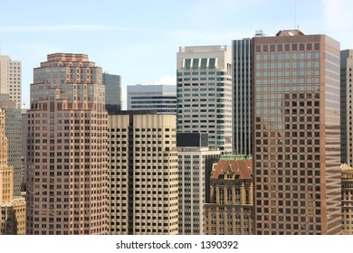 The San Francisco Financial District skyline.