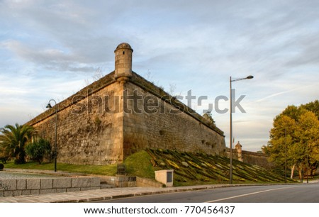 San Francisco Fortress in Chaves, North of Portugal