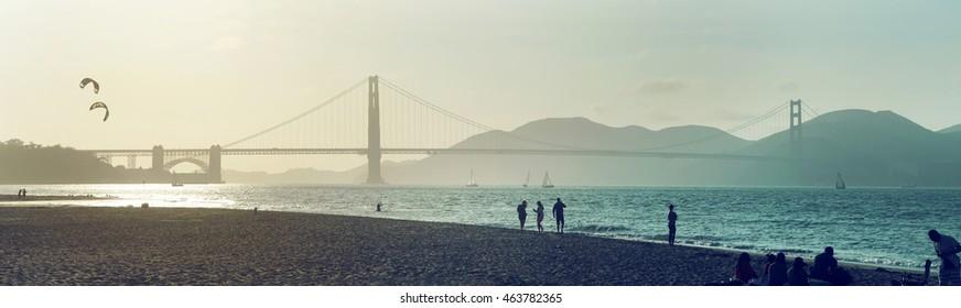 San Francisco Golden Gate Bridge USA