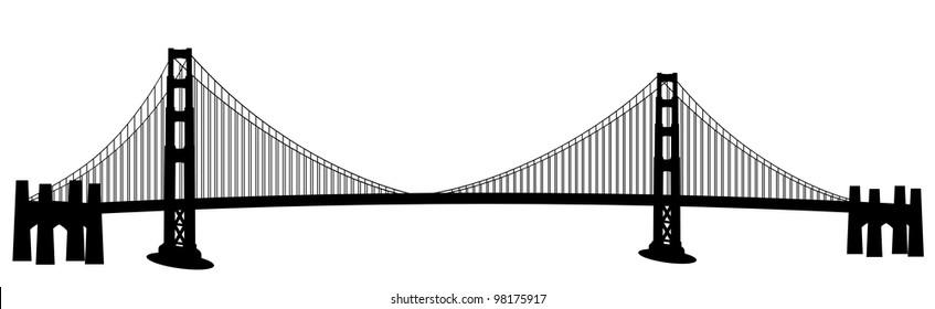 bridge clip art images stock photos vectors shutterstock rh shutterstock com bridge clip art images bridge clipart vector