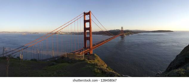 San Francisco Golden Gate: Ultra high resolution panorama