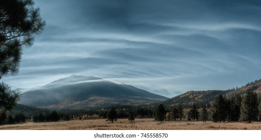 San Francisco Peaks near Flagstaff Arizona US
