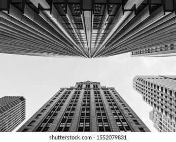 San Francisco perspective - looking up
