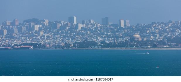 San Francisco skyline, California, USA.
