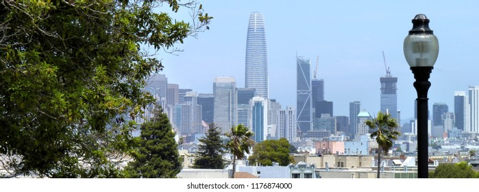San Francisco Skyline - a header image