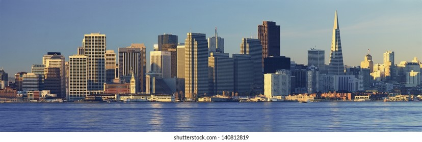 San Francisco skyline from Treasure Island, San Francisco, California