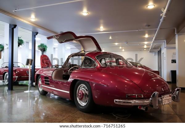 Mercedes Benz Of San Francisco >> San Francisco Usa 240817 Mercedesbenz 300sl Stock Photo