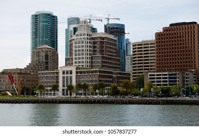 San Francisco, USA - April 25, 2015: San Francisco downtown in a midday