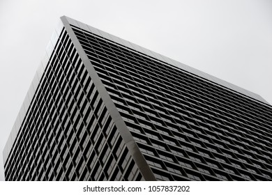 San Francisco, USA - June 22, 2015: Skyscraper view in overcast day