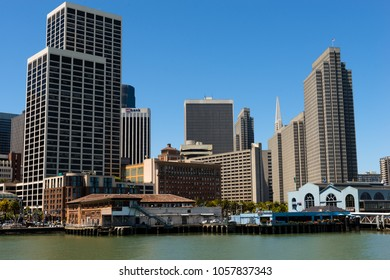 San Francisco, USA - June 23, 2015: San Francisco downtown in a midday