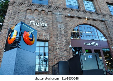 SAN FRANCISCO, USA - NOVEMBER 9, 2015: Office of Mozilla in San Francisco
