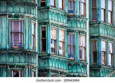 San Francisco Victorian houses