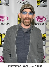 """SAN FRANCISCO-APRIL 3.  Jackie Earle Haley attends the press conference for """"The Human Target"""" during the Wonder-Con convention on April 3, 2011."""