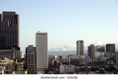 San Franciso City Buildings