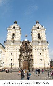 San Fransisco monastery in Lima, Peru