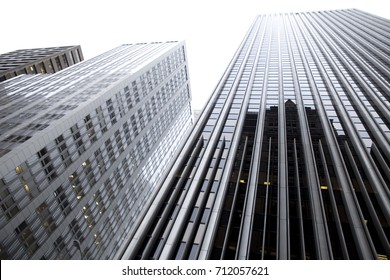 SAN FRANSISCO, USA - DECEMBER 23, 2017; Skyscrapers in Financial District of San Francisco (California)