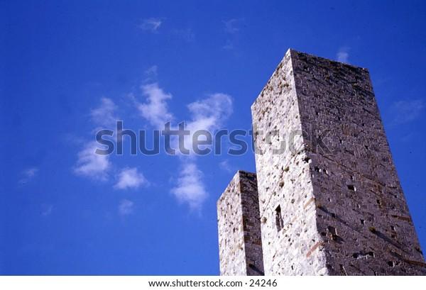 San Gimignano's Twin Towers