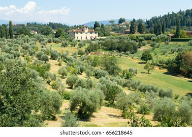 San Gimigniano. Landscape.