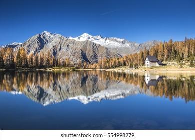 San Giuliano Lake area, Adamello Brenta natural park, Trentino Alto Adige, Italy