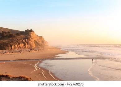 San Gregorio State Beach and Pacific Ocean, 20029 Cabrillo Hwy S Half Moon Bay, CA 94019 - California (USA)