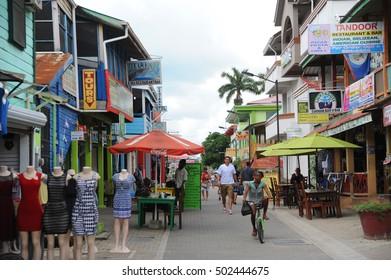 SAN IGNACIO, BELIZE - OCTOBER 2016 - TOWN: City of San Ignacio, Belize.