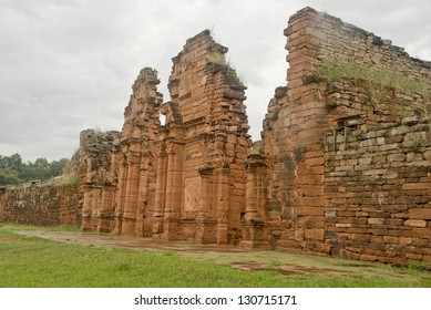 San Ignacio Mini ruins at Misiones, Argentina. Built on 1696