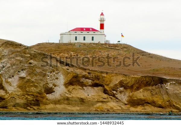 San Isidro Lighthouse - Magdalena Island - Chile