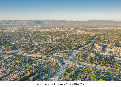 San Jose from Above on Clear Day