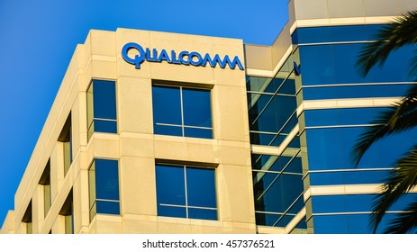 San Jose, CA - Jul. 2, 2016: Qualcomm Inc. Qualcomm Inc. is an American multinational semiconductor company that designs and markets wireless telecommunications products and services.