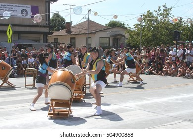 San Jose, California: 5/5/2015: San Jose Obon Festival, Downtown San Jose