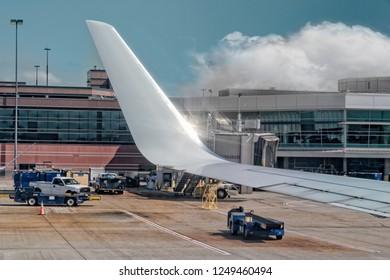 San Jose, California / USA - 10/11/2018: San Jose International Airport, San Jose, California USA
