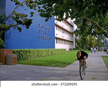 San Jose, California, USA - October, 2008: San Jose State University building