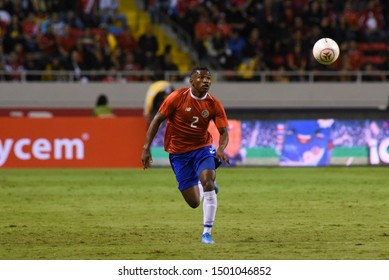 SAN JOSE, COSTA RICA - SEPTEMBER 06 2019: Luis Diaz during friendly match between Costa Rica and Uruguay national teams. Uruguay defeated Costa Rica 1-2.