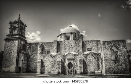 The San Jose mission in San Antonio Texas.