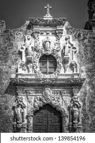 San Jose Mission in San Antonio, TX.