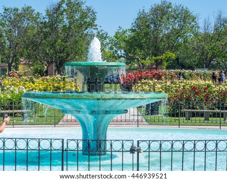 San Jose Municipal Rose Garden Is A Rose Garden Located At The Intersection  Of Naglee And