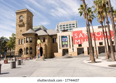 San Jose Museum of Art is an art museum in Downtown San Jose, California, USA. Founded in 1969, the museum hosts a large permanent collection emphasizing West Coast artists .