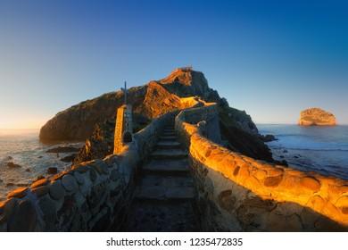 San juan de Gaztelugatxe in Basque Country